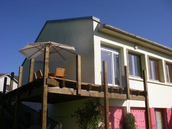 La terrasse.